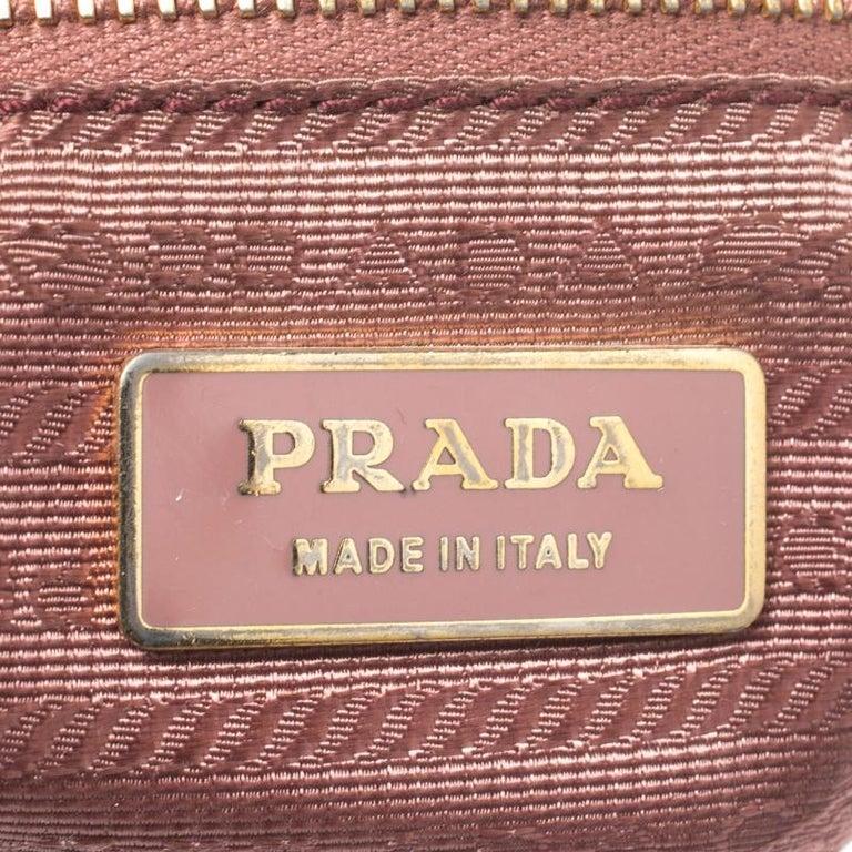 Prada Black Tessuto Nylon Crossbody Bag For Sale 2