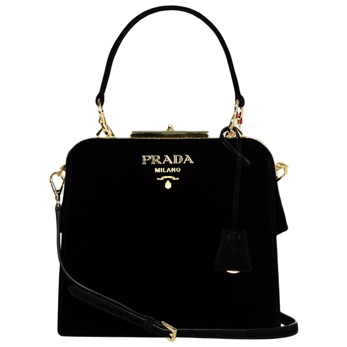 9eae75549867 Prada Bowling Bag Diagramme Quilted Leather Medium For Sale at 1stdibs