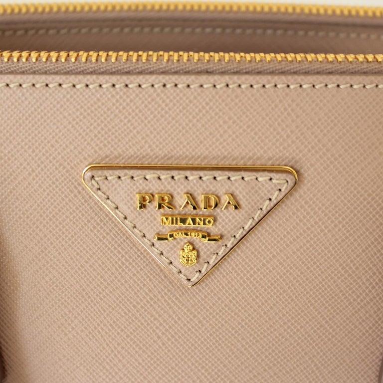 Prada Blue Galleria Medium Bag For Sale 1