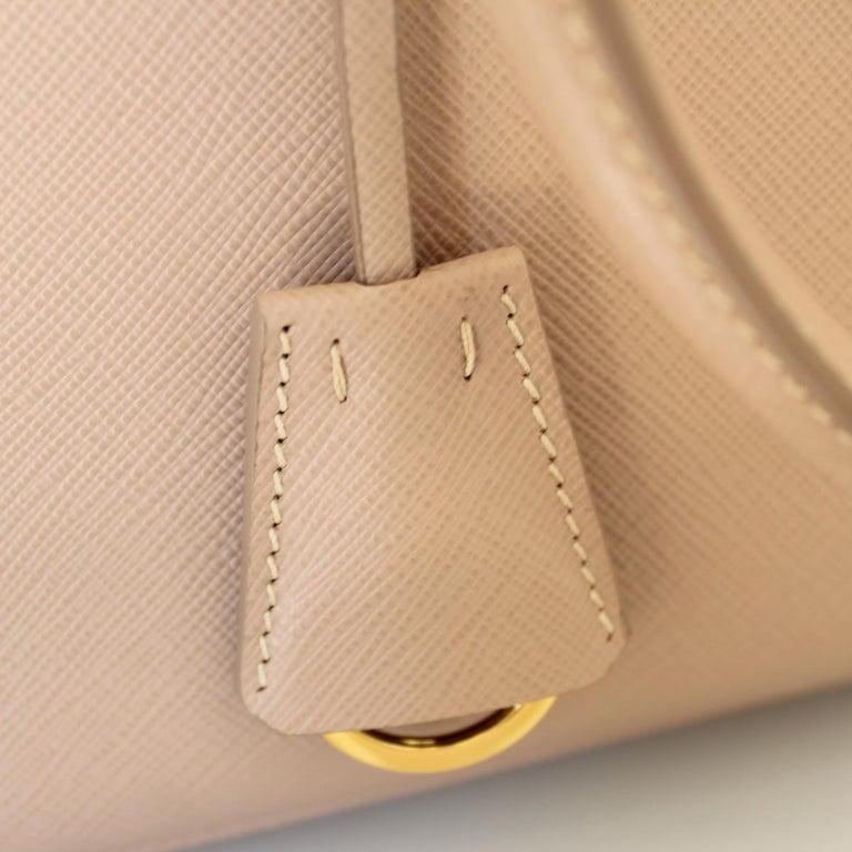 Prada Blue Galleria Medium Bag For Sale 2