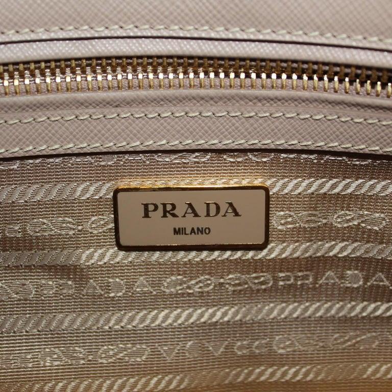 Prada Blue Galleria Medium Bag For Sale 3