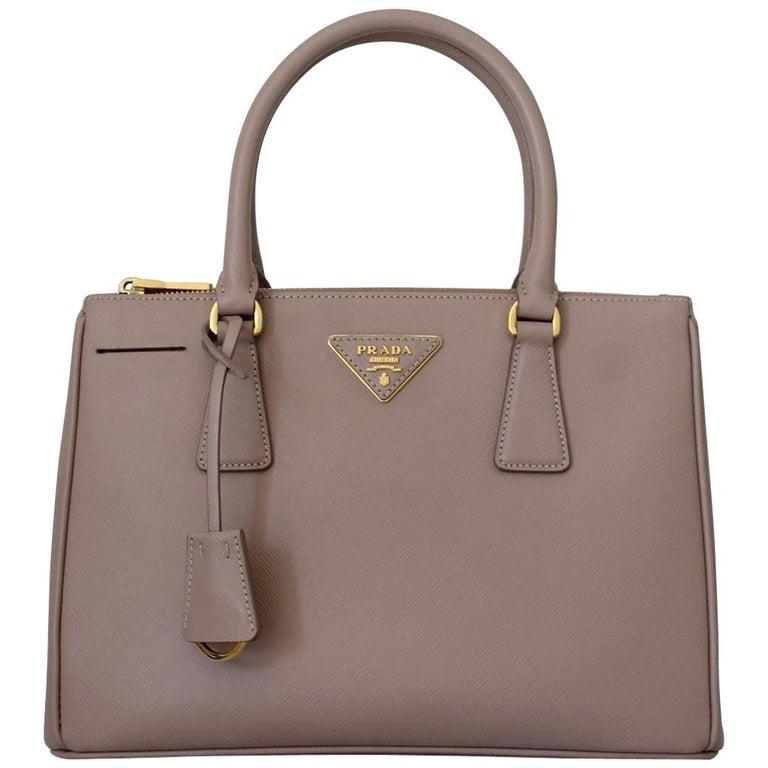 Prada Blue Galleria Medium Bag For Sale
