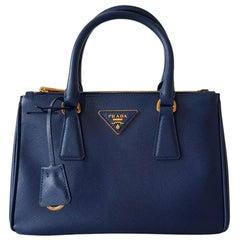 Prada Blue Galleria MIni Bag