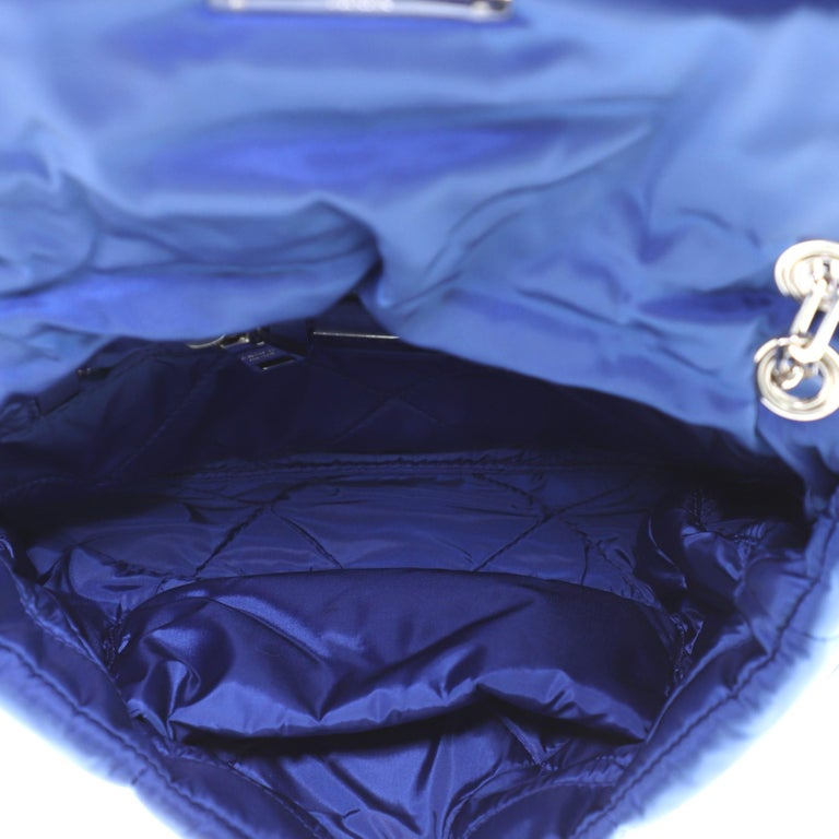 Prada Bomber Chain Flap Bag Tessuto Medium For Sale 1