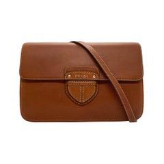 Prada Brandy City Calf Cinghiale Crossbody Flap Messenger Bag, 2011.