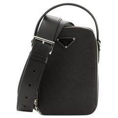 Prada Brique Crossbody Bag Saffiano Leather Medium