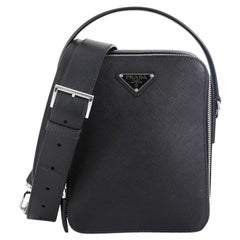 Prada Brique Crossbody Bag Saffiano Leather Medium