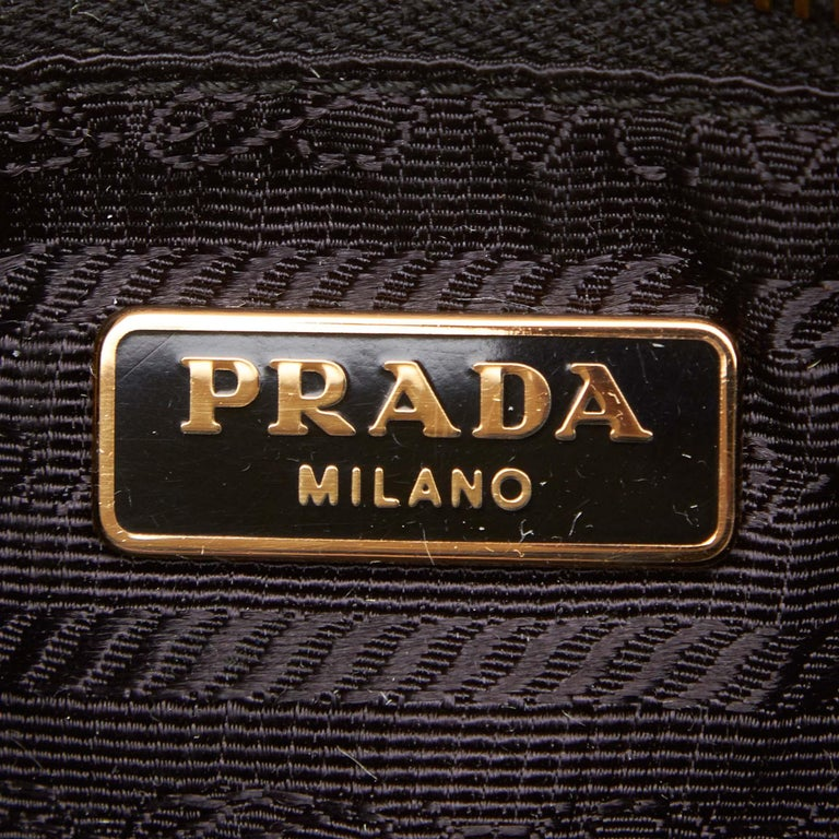 Prada Brown Suede Clutch Bag For Sale 1