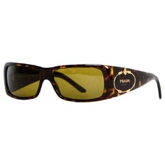 Prada Brown Tortoise Sunglasses