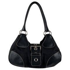 Prada Buckle Hobo Bag