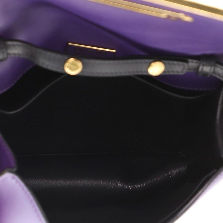 Prada Cahier Crossbody Bag Embellished Leather Small For Sale 1