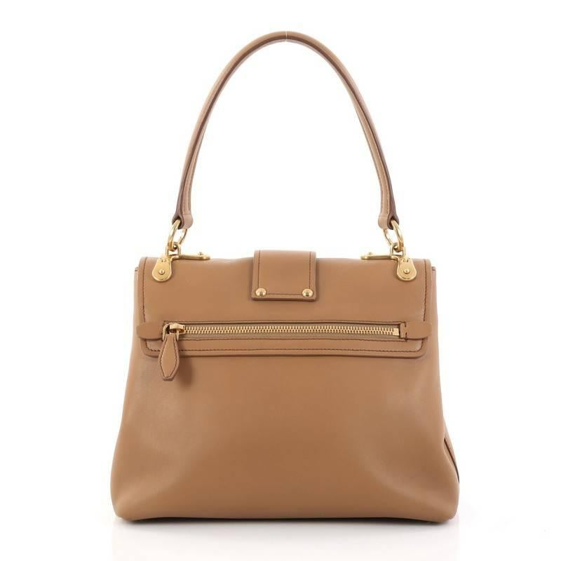 639e2d8cfde3 ... get prada cahier top handle bag leather medium in good condition for  sale in new york