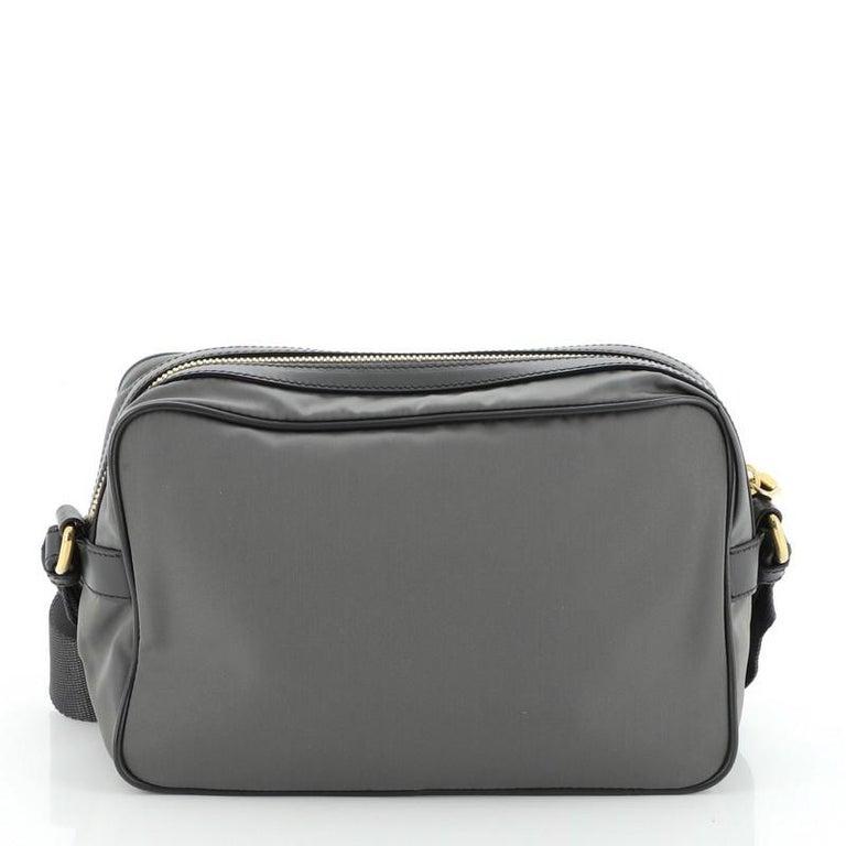 Prada Camera Bag Tessuto Medium In Good Condition For Sale In New York, NY