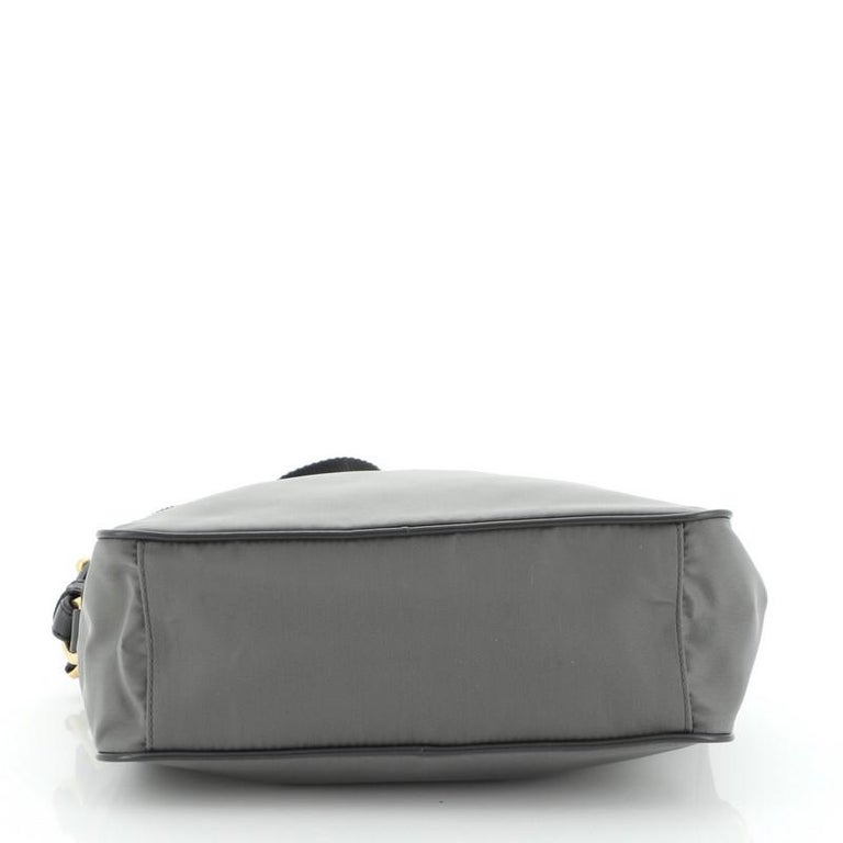 Women's or Men's Prada Camera Bag Tessuto Medium For Sale