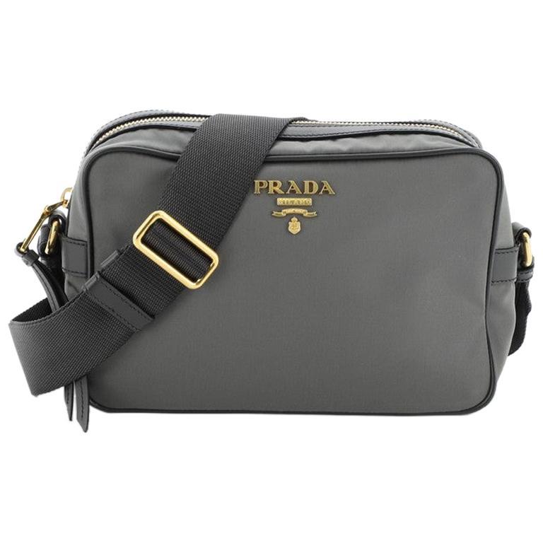 Prada Camera Bag Tessuto Medium For Sale