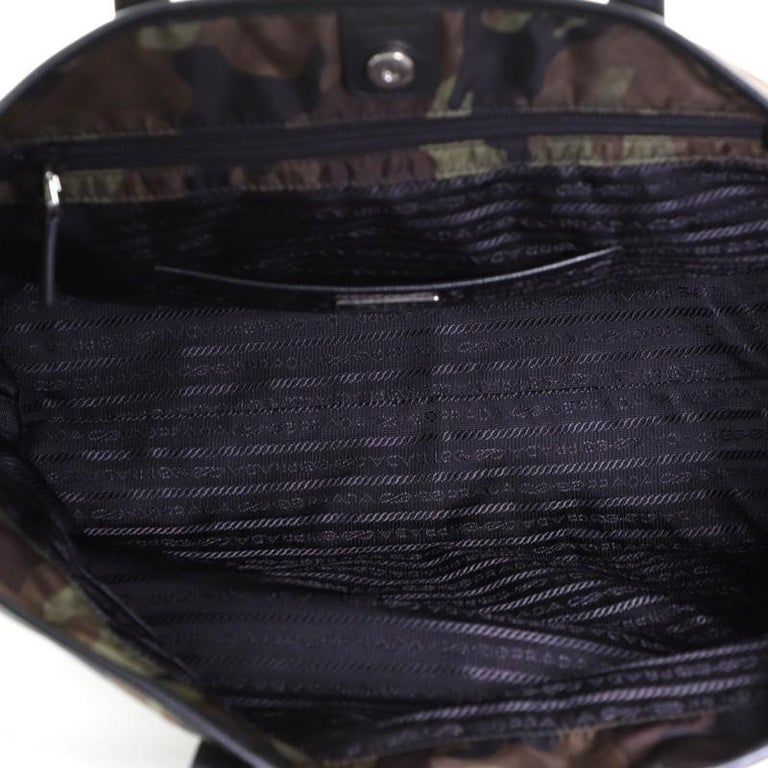 Women's or Men's Prada Camouflage Convertible Open Tote Tessuto Medium
