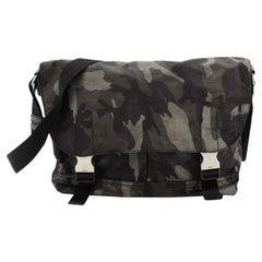 Prada Camouflage Messenger Bag Tessuto Medium