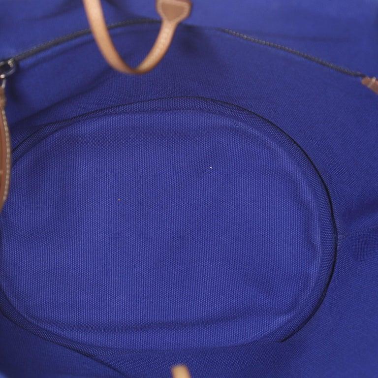 Prada Canapa Convertible Shopping Tote Canvas Medium For Sale 2
