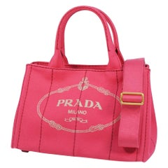 PRADA Canapa2WAY Womens tote bag B2439G Peonia( pink)