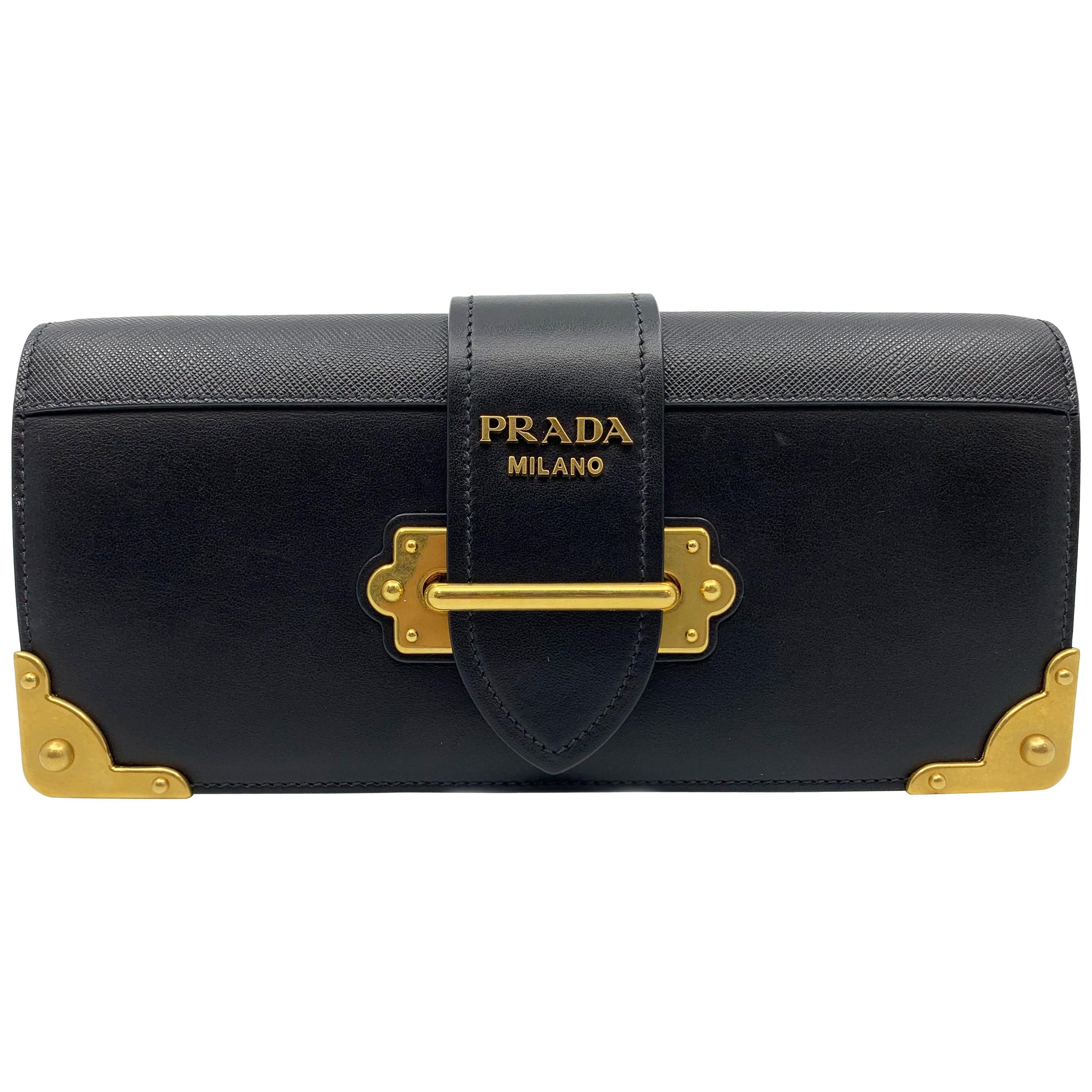e4f107e50086 Prada Leather and Exotic Skin Cross-Body Bag For Sale at 1stdibs