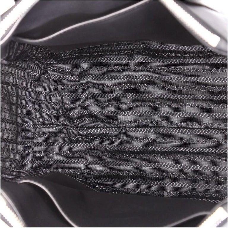 9e7ebc22dc4e Prada Concept Double Zip Tote Tessuto Small For Sale at 1stdibs