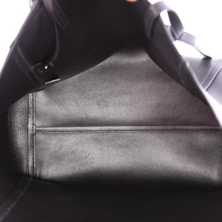1f0c0e9816cde8 Prada Concept Open Tote Leather with Studded Detail Medium For Sale 1