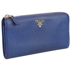 Prada Continental L- Shaped Wallet