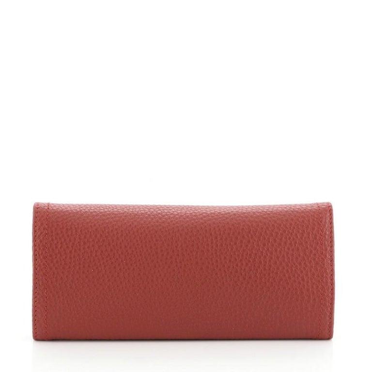 Women's or Men's Prada Continental Wallet Vitello Daino Long
