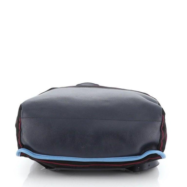 Women's or Men's Prada Convertible Backpack Printed Tessuto  For Sale
