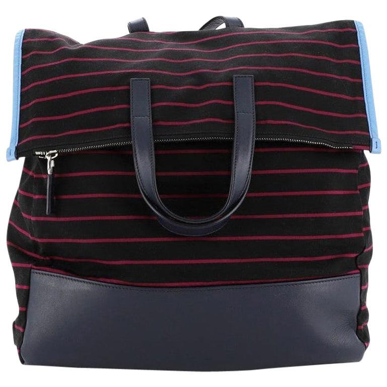 Prada Convertible Backpack Printed Tessuto  For Sale