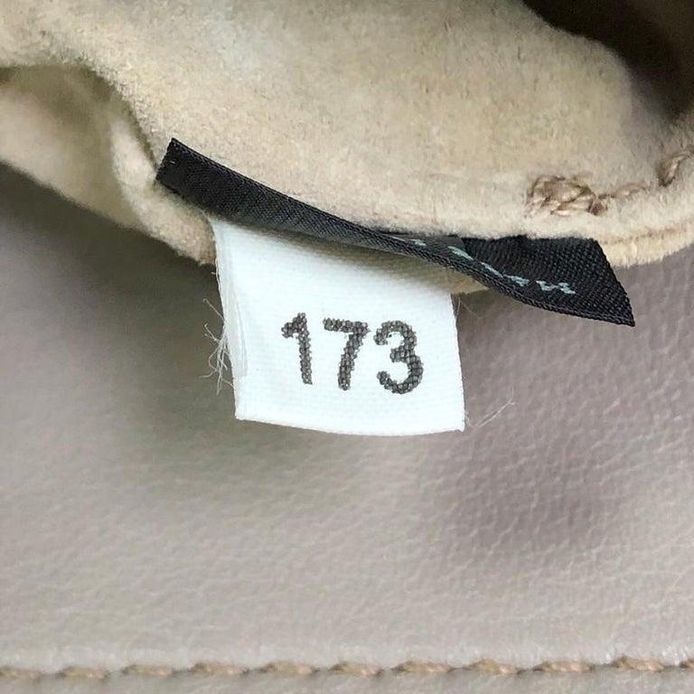 Prada Convertible Belted Satchel Soft Calfskin Medium For Sale 4