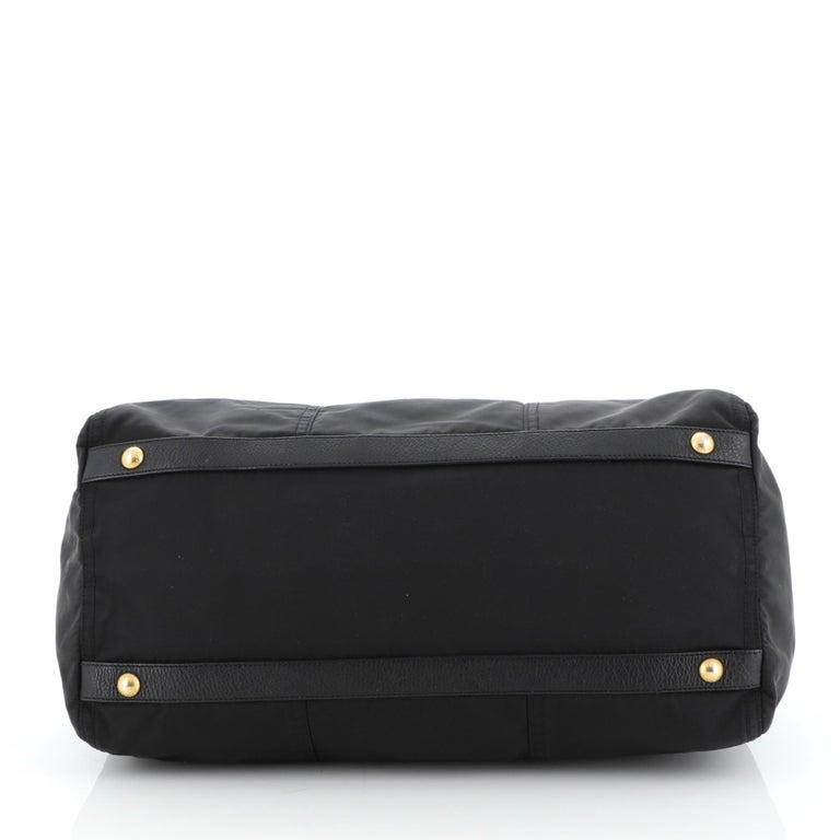 Women's or Men's Prada Convertible Boston Bag Tessuto Large For Sale