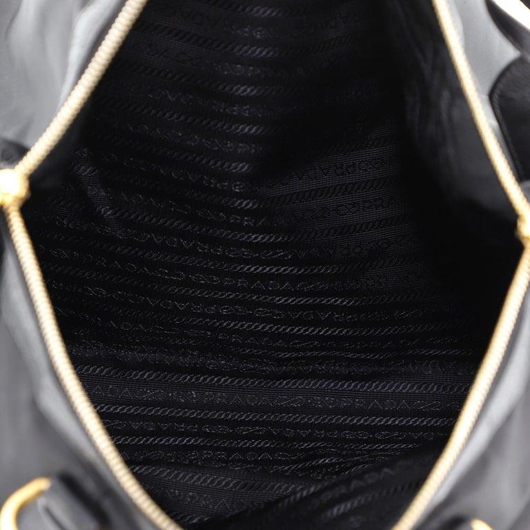 Prada Convertible Boston Bag Tessuto Large For Sale 4