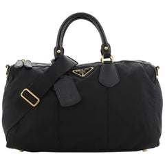 Prada Convertible Boston Bag Tessuto Large