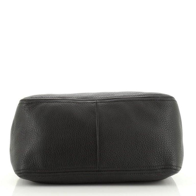 Women's or Men's Prada Convertible Boston Bag Vitello Daino Small For Sale