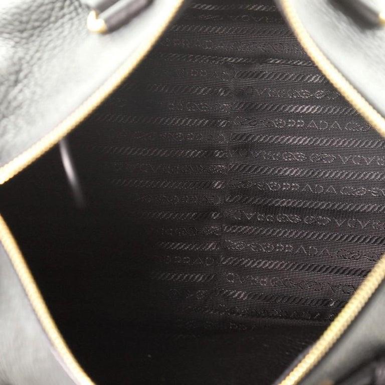 Prada Convertible Boston Bag Vitello Daino Small For Sale 2