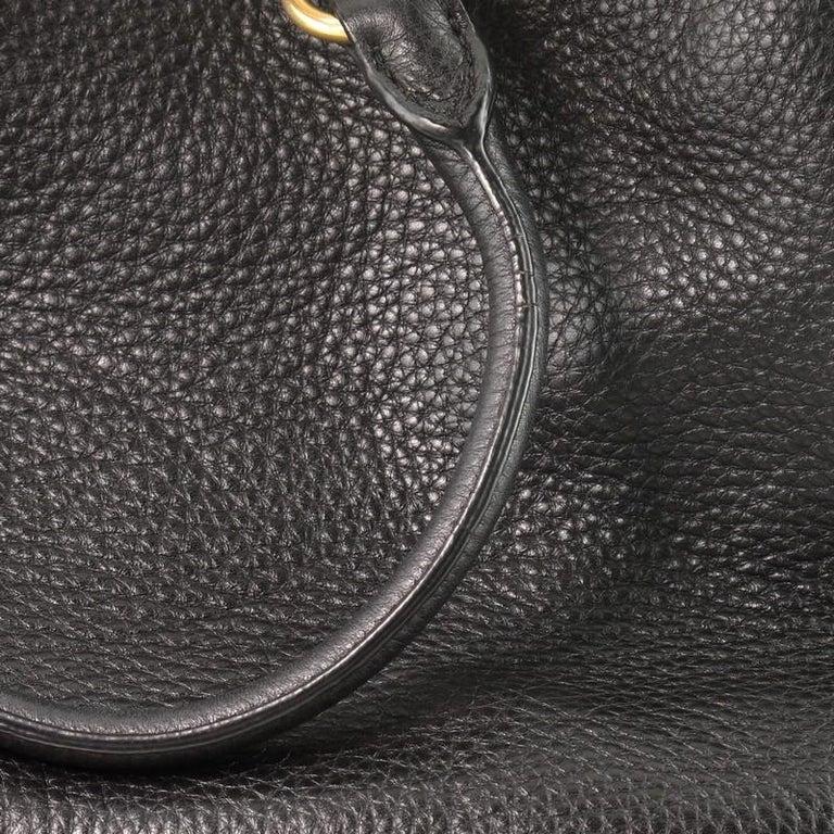 Prada Convertible Boston Bag Vitello Daino Small For Sale 3
