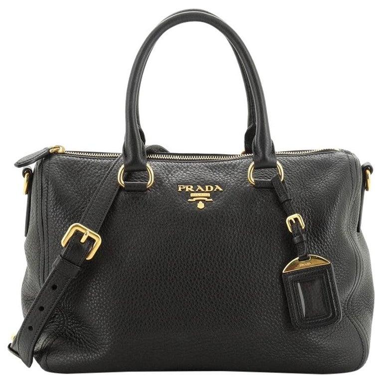 Prada Convertible Boston Bag Vitello Daino Small For Sale
