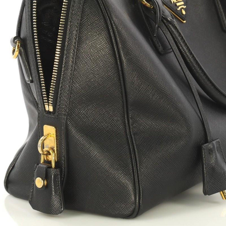3ee82e2405fef6 Prada Convertible Bowler Bag Saffiano Leather Medium For Sale at 1stdibs