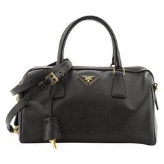 Prada Convertible Bowler Bag Saffiano Leather Medium