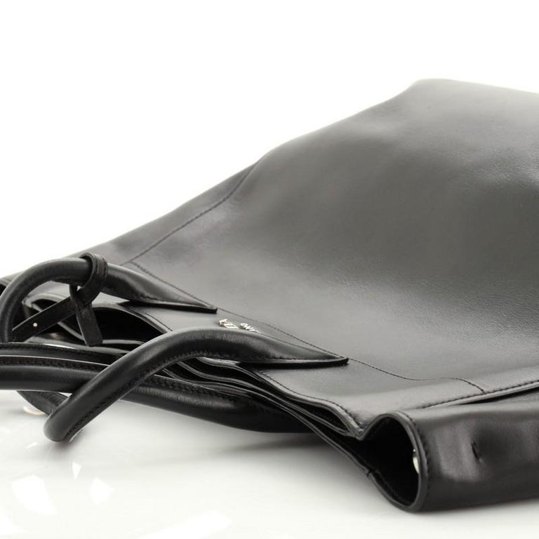 Prada  Convertible Open Tote City Calfskin Medium For Sale 3