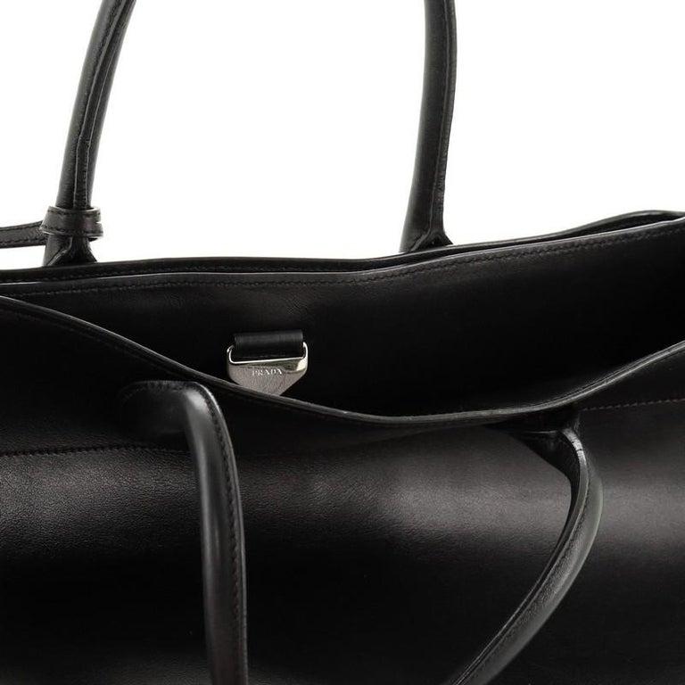 Prada  Convertible Open Tote City Calfskin Medium For Sale 4