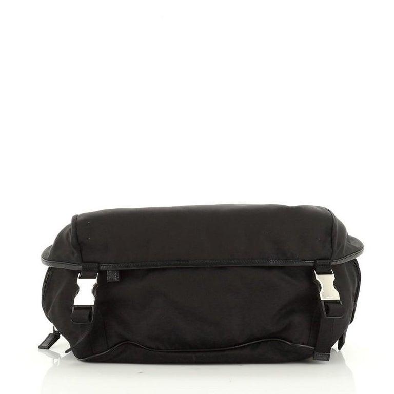 Women's or Men's Prada Convertible Pocket Belt Bag Tessuto Medium For Sale