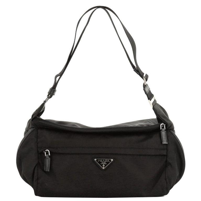 Prada Convertible Pocket Belt Bag Tessuto Medium For Sale