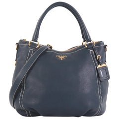 Prada Convertible Satchel Vitello Daino Large