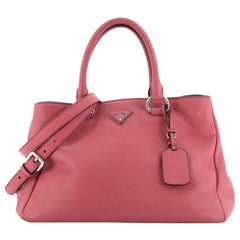Prada Convertible Satchel Vitello Daino Medium