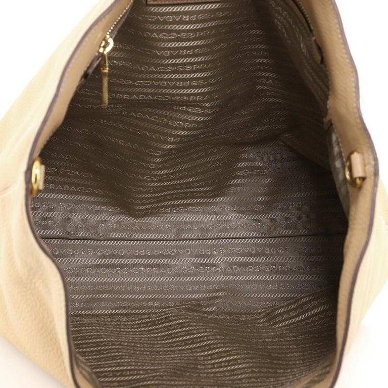 Women's or Men's Prada Convertible Shopper Tote Vitello Daino Large For Sale
