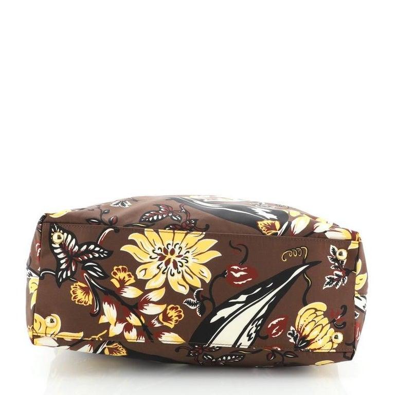 Women's or Men's Prada Convertible Tote Printed Tessuto Large