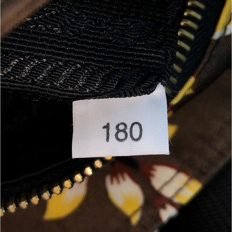 Prada Convertible Tote Printed Tessuto Large For Sale 3