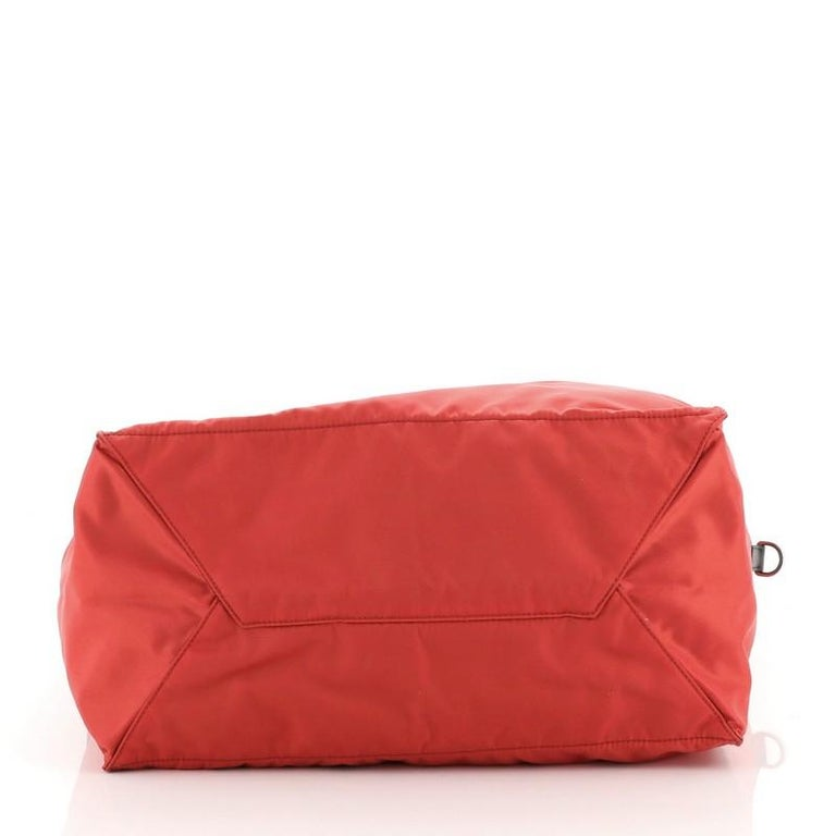 Women's or Men's Prada Convertible Tote Tessuto Large For Sale